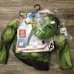 COPY - Incredible Hulk small 4-6 costume new